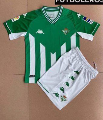 KIT Infantil Real Betis 2021/22 (LOCAL) - Camisetas de futbol baratas, equipaciones para niños y demás ropa deportiva